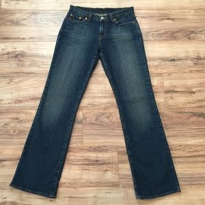 Lucky brand jeans size 6 flare